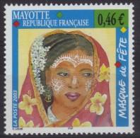 Mayotte N° 142 Neuf ** - Masque De Fête - Mayote (1892-2011)