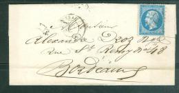 Lsc  Affranchie Par Yvert N°22 Oblitéré GC 447    Am8814 - 1849-1876: Periodo Classico