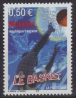 Mayotte N° 148 Neuf ** - Sports - Basket-ball - Mayote (1892-2011)