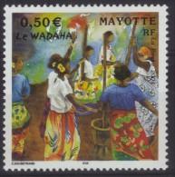 Mayotte N° 149 Neuf ** - Danse - Le Wadaha - Mayote (1892-2011)