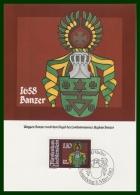 BLASON BANZER  CM LIECHTENSTEIN 1982 - Maximumkarten (MC)