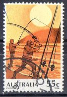 Australia 1979 Fishing 55c Used - 1966-79 Elizabeth II