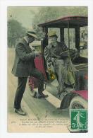 PARIS MODERNE - Chaufeuse D'Autotax ( Couleurs ) - Taxi & Carrozzelle