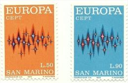 1972 - San Marino - Europa-CEPT