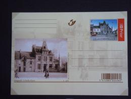 België Briefkaart Belgique Entier 2005 Philippeville Le Bureau De Poste Vroeger En Nu  Passé Et Présent BK CP 141 - Postwaardestukken
