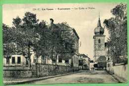 88 REMIREMONT - Les Ecoles Et L'église - Remiremont