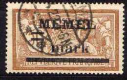 Memel 1920 Mi 26 X, Gestempelt [180513L] @ - Memelgebiet