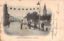 81 - St-Paul-Cap-de-Joux - Grand'Rue - Saint Paul Cap De Joux