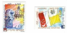 San Marino / Diplomacy / Relation Between Vatican And Singapore - Saint-Marin