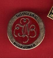 28720-pin´s Val De Villé, La Distillerie Jos. Nusbaumer .Alsace.boisson. - Boissons