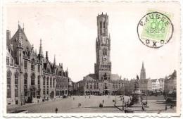 B - WF - Brugge - Grote Markt - Bruges - Grand' Place - Ern. Thill / Nels - Photothill N° 1 (Gebruikt / Circulée 1952) - Brugge