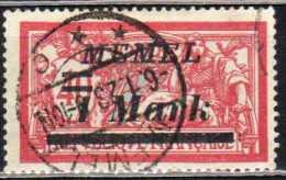 Memel 1922 Mi 64, Gestempelt [180513L] @ - Memelgebiet