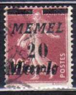 Memel 1922 Mi 109, Gestempelt [180513L] @ - Memelgebiet