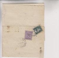 Mista Amgot Imperiale 50 Cent Da Trapani 23/10/1943 Per Mazara Sicily Sicilia Alleati II Guerra - Occup. Anglo-americana: Sicilia