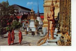 Inside The Grounds Of Wat Phra Keo Bangkok - Thaïlande