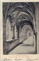 CPA 12 VILLEFRANCHE DE ROUERGUE HOSPICE ANCIENNE CHARTREUSE GRAND CLOITRE - Villefranche De Rouergue