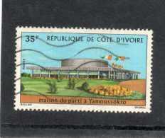 CÔTE D´IVOIRE : Maison Du Parti à Yamossoukro - Bâtiment - - Ivory Coast (1960-...)