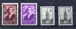 Reine Elisabeth, Beffroi De Mons, 457A / 457B+ 522, - Belgien