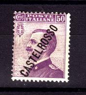 1924 CASTELROSSO EFFIGIE 50 CENT NUOVO MNH ** - Castelrosso
