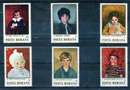 1984 - Portraits D Enfants Mi 4096/4101 Et Yv 3535/3540 MNH - Ungebraucht