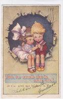 """CARD BERTIGLIA BIMBI INNAMORATI """"NON HO AMATO CHE TE NELLA VITA""""-FP-VSF-2-0882-156 16 - Bertiglia, A."""