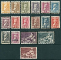 Spain 1930 SG 553-70 MM Cat. 55£ - Unused Stamps