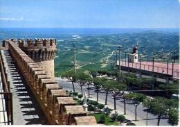 Cellino Attanasio - Teramo - Panorama Con Vista Del Mare - Formato Grande Viaggiata - Teramo