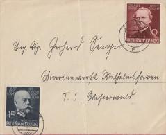 Danzig Brief Mif Minr.306,307 Danzig 16.5.39 - Danzig