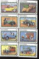 MINT NEVER HINGED SET OF STAMPS OF DISNEY   #  S-151  ( GAMBIA   928-35 - Disney