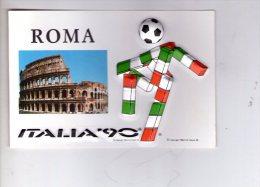 ROMA , Colosseo  , Italia 90 , Calcio  * - Colosseum
