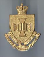 Insigne de B�ret/Queensland University Regiment/Australie/ /Ann�es 1980   IB51