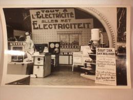 Photo. Publicité. Stand. Tout à L'Electricité. Alles Met Electriciteit. - Photos