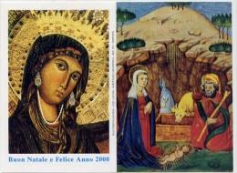 Calendarietto - Santuario Maria Ss.ma Di Montecassino 2000 - Formato Piccolo : 1991-00