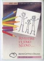Tessera - Azione Cattolica Italiana Anno 1990-1991 - Vecchi Documenti