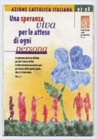 Tessera - Azione Cattolica Italiana Anno 1997-1998 - Vecchi Documenti