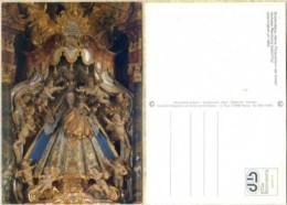 Ak Österreich - Galtür - Pfarrkirche,church,E Glise - Gnadenstatue - Madonna - Virgen Mary & Madonnas
