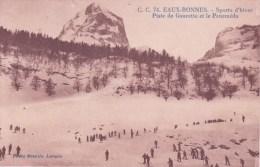 64 LES EAUX BONNES, Piste De Gaurette Et Le Peneméda, Skieurs - Frankrijk