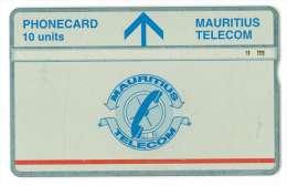 MAURICE Ref MV Cards MAU-21C 10 U CN: 605A Tirage 10 000ex Rare - Maurice