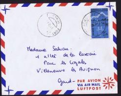 1960 Lettre Avion De Fort-Lamy  Pour La France - Chad (1960-...)