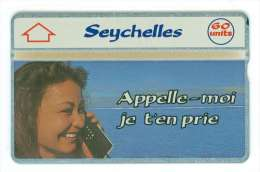 SEYCHELLES Ref MV Cards: SEY-13 NEUF 60U Please, Call Me! CN: 109C 8000 Ex. Rare - Seychelles