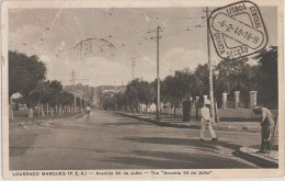 Lourenço Marques - Maputo - Avenida 24 De Julho. Moçambique. - Mozambique