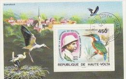 Upper Volta-1975 Bird Used  MS - Unclassified