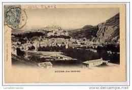 04 - SISTERON - VUE GENERALE - CARTE A DOS SIMPLE ( 1ère édition ) - Sisteron