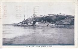 Canada  BATTLESHIP At The CITADEL,  QUEBEC  1919 - 1911-1935 Reign Of George V
