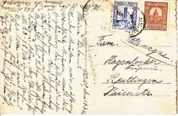 Tunisia To Germany  French  Ship  1932 - Tunisia (1888-1955)