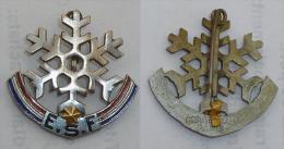 EPINGLETTE PREMIERE ETOILE ESF, Mdle ANCIEN (etoile Clipsee) Signe MOUT…EAU - Sports D'hiver