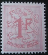 BELGIQUE N°1027Bb Papier Phosphorescent Neuf ** - Unused Stamps
