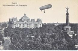 Germany BERLIN  With  ZEPPELIN  Unused - Unclassified
