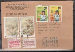 China  Nice Registered Letter    Lot 547 - 1949 - ... République Populaire