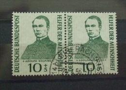 BRD 10+5pf Wohlfart Adolf Kolping  2er  Siehe Scan  (P75-8 - BRD